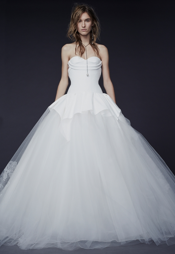 Vera Wang Fall 2015 Wedding Dresses – August Pearls Creations